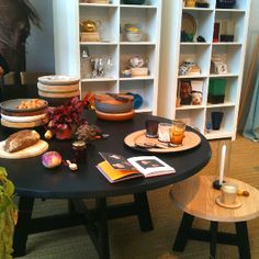 SLOWWOOD table at the woonbeurs fair in Amsterdam