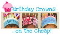 Crafty Fun: Birthday Crowns! - Kindergarten Kindergarten