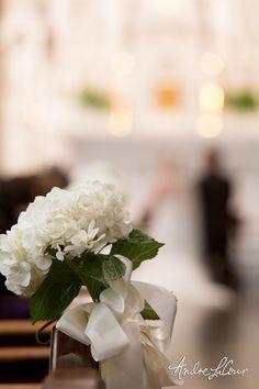 Wedding bouquet at a