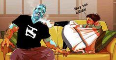 Yehuda Adi es un ilustrador que dibuja cómics sobre las aventuras que vive al lado de su esposa Maya. Estos cómics relatan la relación que vive una pareja
