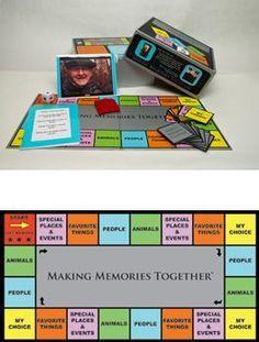 Alzheimer's Game for Alzheimers Memory Disorders Gene Cohen GENCO Board Games Making Memories Together