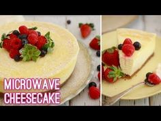 Make a traditional baked New York Cheesecake in about 5 minutes with my Microwave Cheesecake recipe for amazing, creamy baked flavor with less fuss. /Written instructions are available. Microwave Cheesecake Recipe, Cheesecake Recipes, Dessert Recipes, Desserts, Homemade Cheesecake, Microwave Baking, Microwave Recipes, Mug Recipes, Sweets