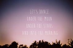 Let's Dance Under The Moon