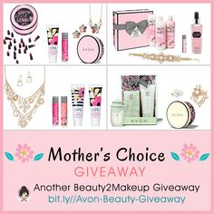 It's time for another @Beauty2Makeup giveaway and this time we're celebrating Mom with a special Mother's Choice #Giveaway! Three lucky winners will get to choose their prize! There are four to choose from!  Over $260 in prizes will be given away!  #MothersDay #BeautyGiveaway #MothersDayGifts