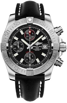 """Breitling Avenger II A1338111/BC32-435X: """"A1338111/BC32-435X NEW BREITLING AVENGER II MEN'S LUXURY WATCH FOR… #Watches #Watch #LuxuryWatch"""