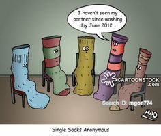 the day all the missing socks came back - Google Search Mental Health Humor, Cartoon Outfits, Funny Laugh, Cool Socks, Funny Cartoons, Knitting Socks, Comebacks, Family Guy, Comics