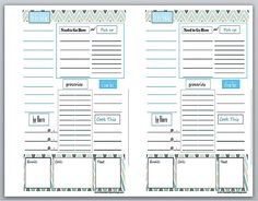 EDITABLE Printable Daily Planner - Time Management - Product ...