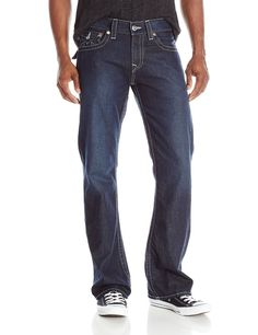 True Religion Mens Bootcut Jeans with Flaps Size 44 in Lonestar NWT #TrueReligion #BootCut