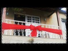 DIY - Decoração de Natal para varandas e sacadas - YouTube