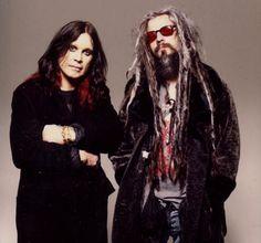 Ozzy Osbourne and Rob Zombie