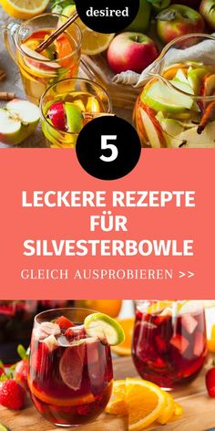 New Years punch: 5 delicious & simple Silvesterbowle: 5 leckere & einfache Rezepte! We& tell you the most delicious bowl recipes for your New Year& party! From the classic to the exotic to the driver variant without alcohol. Healthy Foods To Eat, Healthy Habits, Healthy Recipes, Simple Recipes, Delicious Recipes, Health Snacks, Health Desserts, Health Foods, Health Tips
