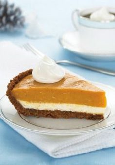 Double-Layer Pumpkin Pie – For our money, Cinderella had it wrong. We'll take the pumpkin, not the prince.