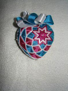 Srdiečko tyrkysovo-ružové