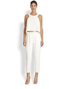 Outfit for Wednesday night's dinner: Trina Turk Kaitlyn Jumpsuit