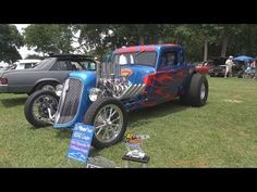 "1934 Plymouth PF 5 Window Coupe: In""Flame""ous - YouTube"