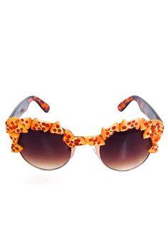 Pizza Party Pepperoni Slice Sunglasses