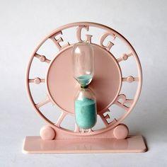 50's Pink Egg Timer....