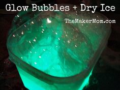 How to make Glow Bubbles - love this!