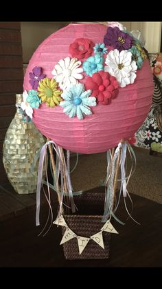 Hot air balloon valentines box! My favorite one I've made so far!