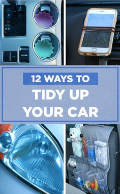12 Ways To Tidy Up Your Car