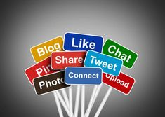Free Stock Photo of Social media and networking concept - Social media buzzwords Created by Jack Moreh