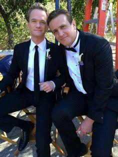 Handsome guyss.... Neil Patrick Harris & Jason Segal