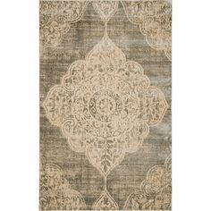 Aria Rug in Gray and Ivory  at Joss and Main