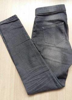 Kup mój przedmiot na #vintedpl http://www.vinted.pl/damska-odziez/rurki/17064319-szare-jeansy-rurki-38-camaieu