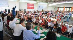 Va delegación morelense de unidad a la XXII Asamblea Nacional del PRI