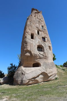 I live in a rock.  This is one of our favorite pictures of a home in Cappadocia, Turkey.
