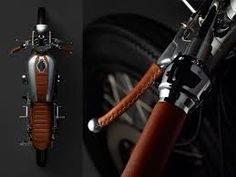 Image result for cafe racer tank strap