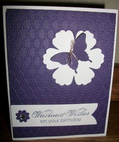 Negative Butterfly by francliff - Cards and Paper Crafts at Splitcoaststampers