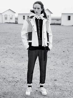 Adrienne Jüliger, Aya Jones by Karim Sadli for The New York Times T Style Magazine Spring 2015 1