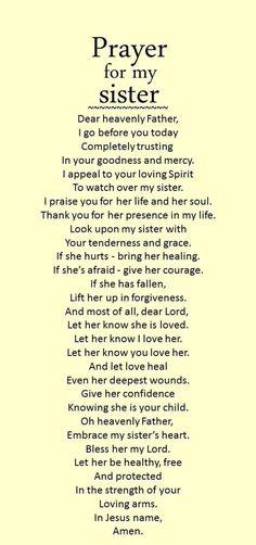 Prayer Scriptures, Bible Prayers, Faith Prayer, Prayer Quotes, Bible Verses Quotes, Faith Quotes, Prayers For My Sister, Prayer For My Family, Good Prayers