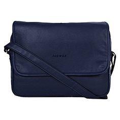 MBOSS Faux Leather Portfolio Messenger Laptop and Tablet Bag PFB 044 BLUE @ Rs.1499