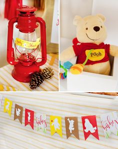 Chá de Bebê Ursinho Puff Classic + Modern Winnie the Pooh Baby Shower // Hostess with the Mostess® Winnie The Pooh Themes, Winnie The Pooh Birthday, Winnie The Pooh Plush, Bear Birthday, 2nd Birthday, Birthday Parties, Baby Shower Balloons, Baby Shower Cakes, Baby Shower Themes