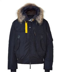 Navy Down Gobi Bomber Parka by Parajumpers