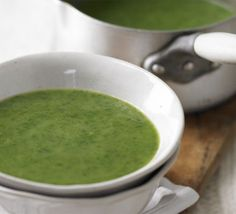 Detox green soup recipe - Recipes - BBC Good Food. Better with bacon...although somewhat less detox-y