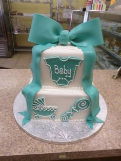 30 Gorgeous Baby Shower Cakes for Girls