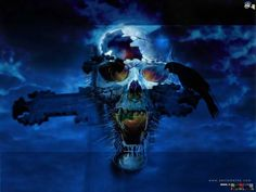 Free Wallpapers | free scary wallpaper 1024x768 29340 scary skull wallpapers scary movie ...