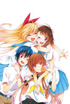 Chitoge, Kosaki, Seishiro, & Marika | Nisekoi