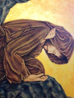 St Francisco, Saint Francis, Francis Of Assisi, Psalm 23, Spirituality, Painting, Saints, Study, Santa Clara De Asis