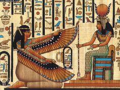 Isis déployant ses ailes