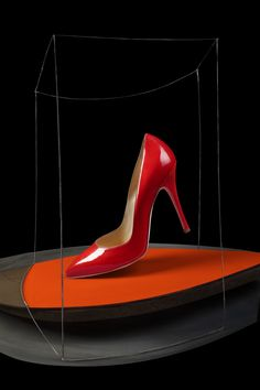 MARCELLO BONFANTI Alessandro Oteri - shoes - still life Louboutin Pumps, Christian Louboutin, Heels, Orange, Life, Fashion, Heel, Moda, Fashion Styles