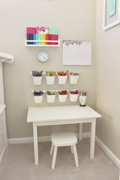 Playroom Toddler Art Station