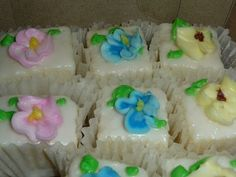 For those of you who are old enough to remember Hough Bakery, Archie's will conjure up such sweet memories of childhood days and happy celebrations...He sells amazing cakes, cupcakes, coconut bars,  and the 'oh so famous' and 'hard to find' petit fours.
