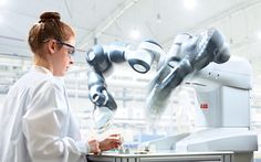 #ABB introduces #YumiRobot world's first truly collaborative #dualarmrobot #robotics