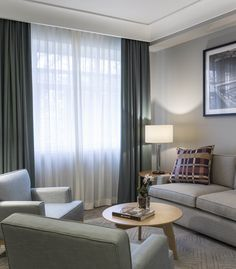 Image 21 of 34 from gallery of Hotel Vincci Porto / José Carlos Cruz. Photograph by Fernando Guerra Drawing Room, Motel, Guest Room, Design Ideas, Curtains, Architecture, Gallery, Photograph, Interiors