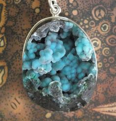 COLLECTOR Gem Silica Druzy Handmade Sterling by jamesblanchard
