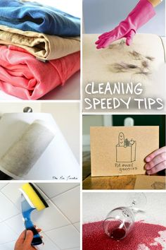 So smart! These time-saving cleaning secrets are a must save.